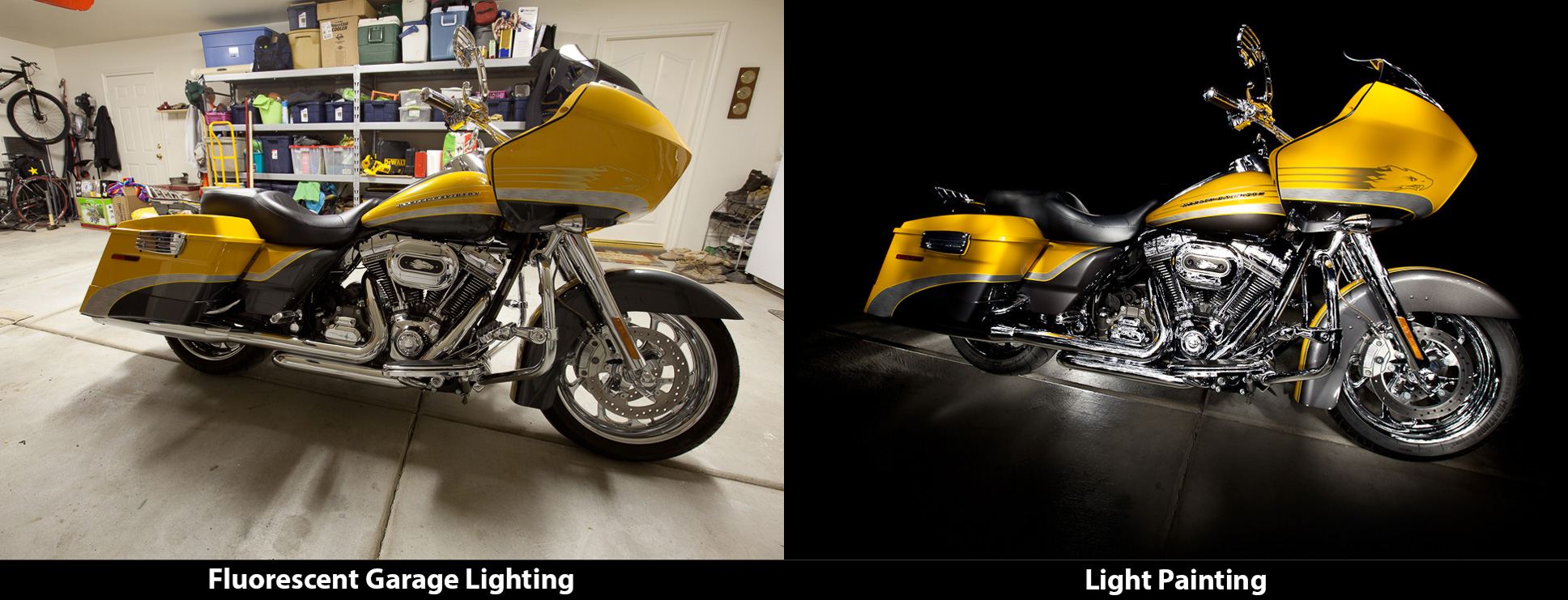 The Light Painting Difference