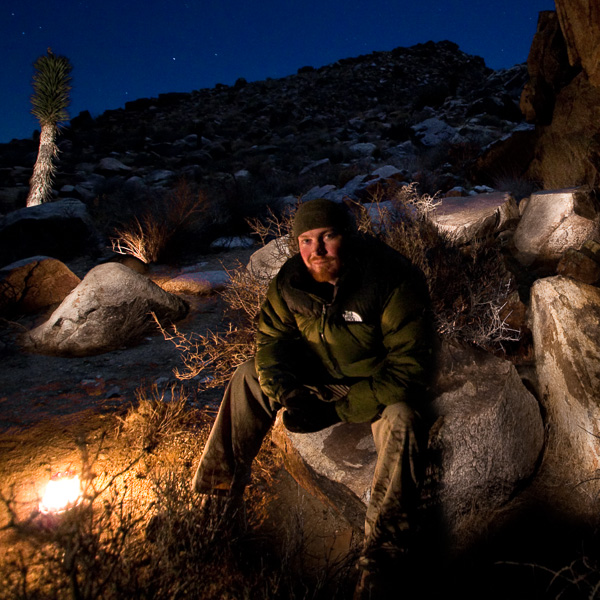 Sean in Joshua Tree National Park