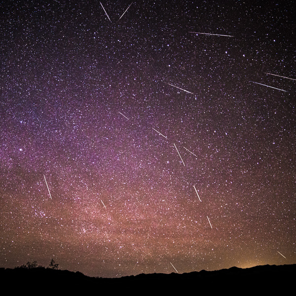 Geminids Meteor Shower 2013