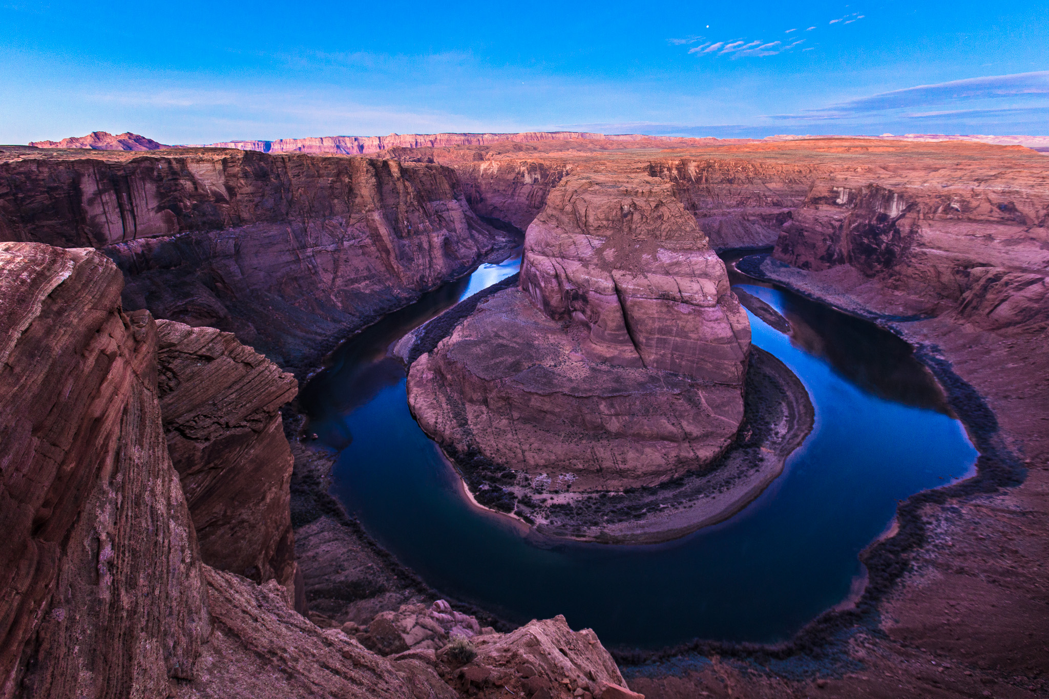 Horseshoe Bend Twilight
